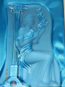 Хрустальная фигура Богини здоровья Гигея