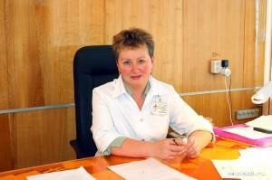 Елена Павловна Вырупаева, заместитель по лечебной работе