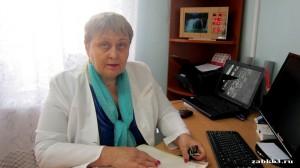 Горяева Валентина Николаевна – фармацевт ГУЗ «КБ № 3», стаж работы – 42 года, заслуженный работник здравоохранения  Читинской области с 2008 г., ветеран труда.