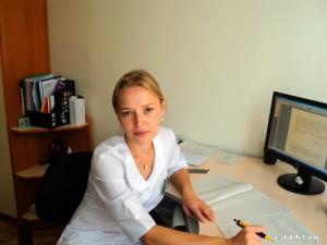 Заведующая отделением, Олиферовская Ольга Георгиевна, врач педиатр высшей категории, заслуженный врач Забайкальского края