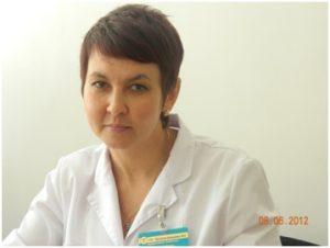 Врач отоларинголог Елена Анатольевна Попович