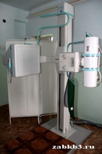 Рентген-кабинет поликлиники
