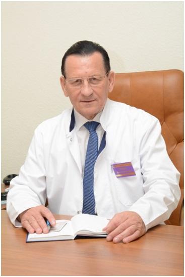 Главный врач ГУЗ «КБ № 3» Н.И. Горяев